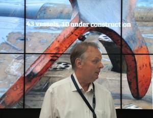 Carsten René Hansen var projektansvarlig for flytningen og er nu driftsansvarlig for den nye bygning.