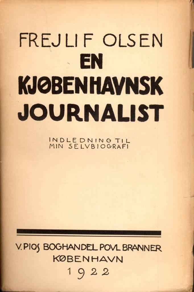 En københavnsk journalist