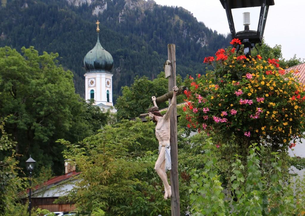 Oberammergau - smukt og idyllisk, men for kort tid til at bese det hele.