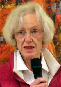 Kasserer Annette Hartung måtte melde om underskud i årets regnskab.