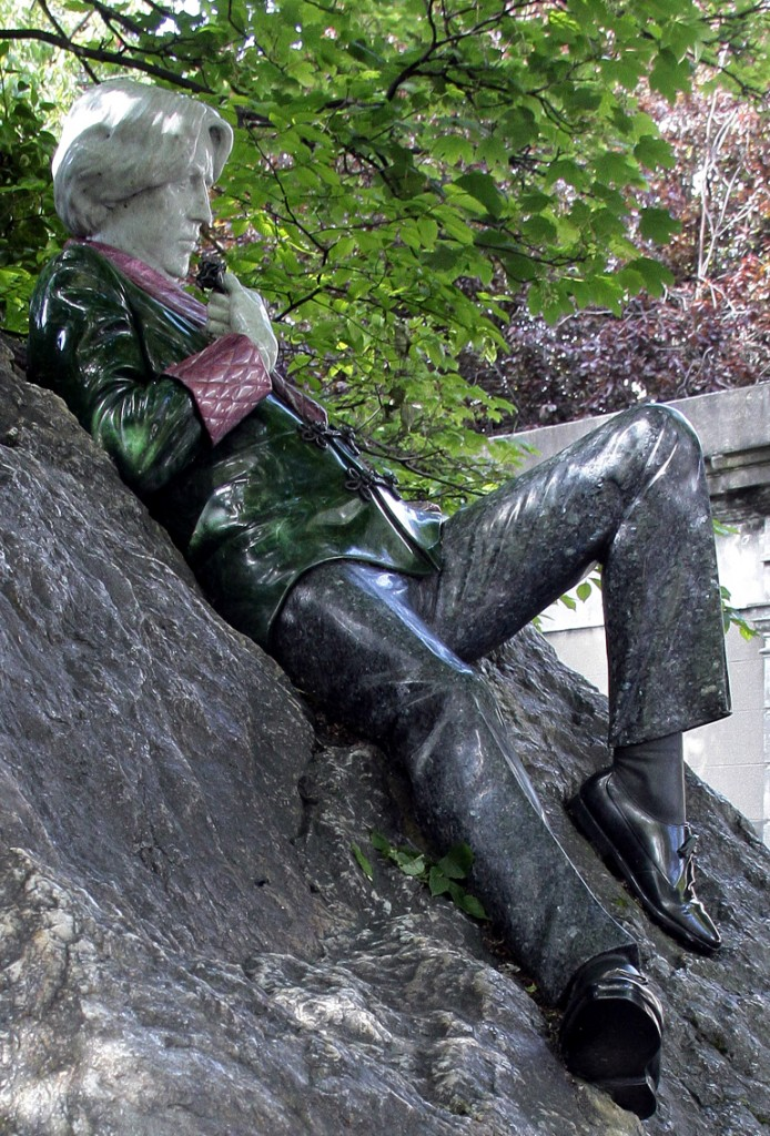 Irland 2014 (26) Oscar Wilde Dublin St. Stephens Green park