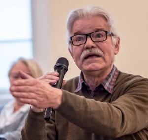 Jørgen Falck stillede mange spørgsmål til Per Westergaard.