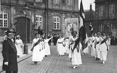 Kvindetoget i 1915