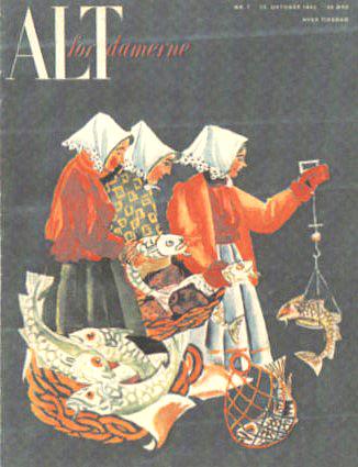 """Første nummer af """"Alt for damerne"""" (1946)"""
