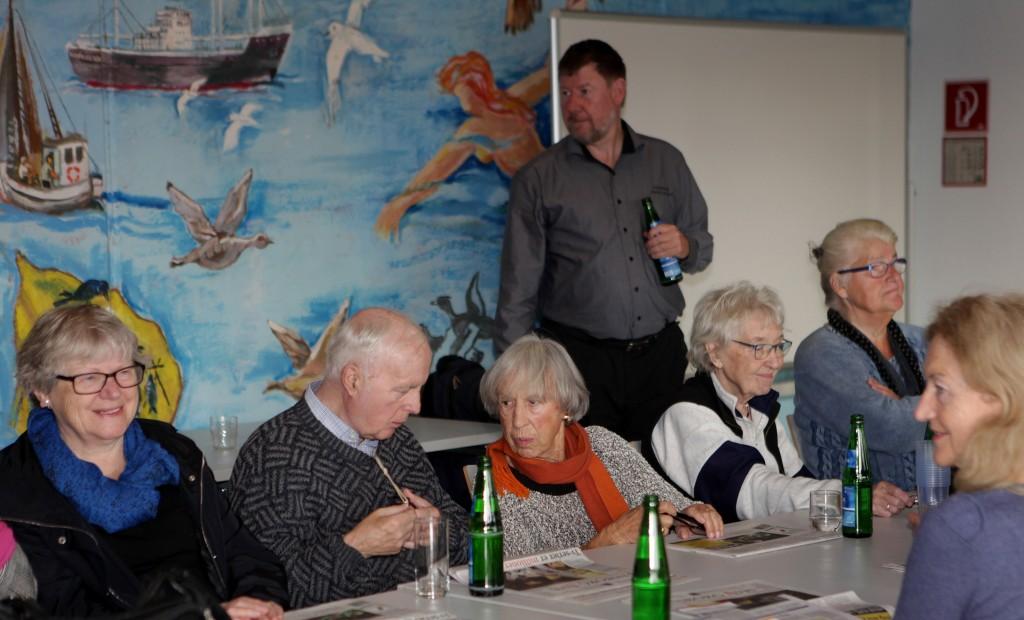 Elisabeth Lumby (længst til højre), Tove Smidth  og Lise Nørgaard var blandt gæsterne.