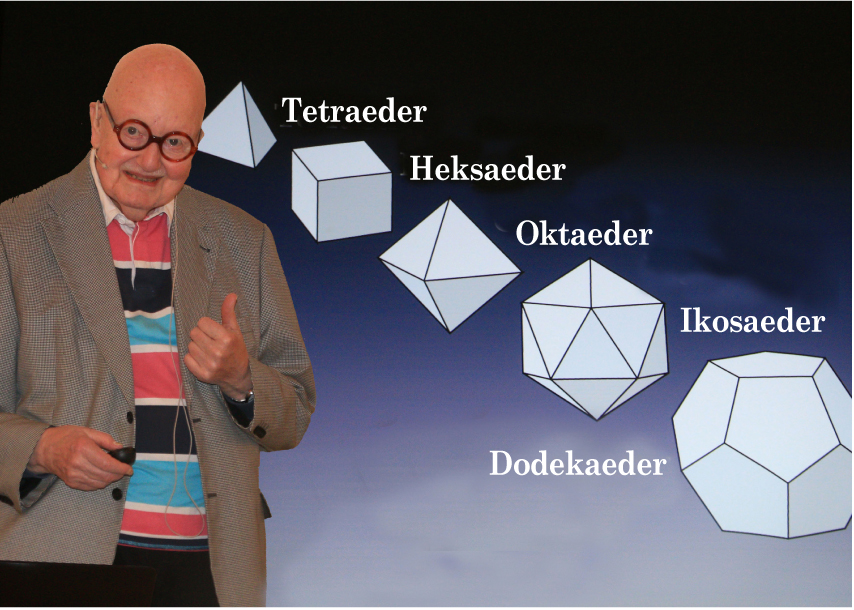 Få kan som Anker Tiedemann fortælle om snefnuggenes krystaller, biernes sekskantede celler og solsikkernes blomster. Foto: Finn Hillmose.
