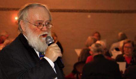 Niels Peter Arskog - julefrokostens forsanger