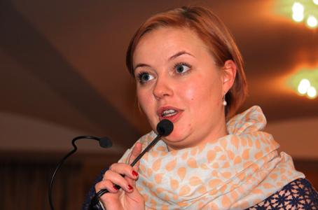 Julie Rosenkilde, Kreds 1-formand, var en kær gæst - hun kom med en check på 30.000 kr. fra kredsen som tilskud til Veteranklubben