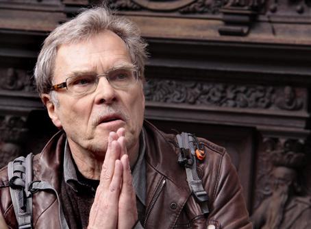 Steffen Heiberg fortalte levende om Christian den Fjerdes pragtslot. Foto: Finn Hillmose