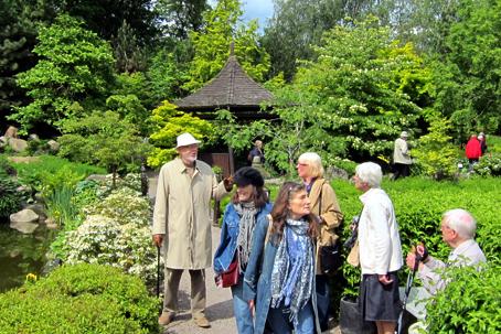 Birkegårdens haver, en oplevelse der tog pusten fra os alle. Foto: Claus V. Jakobsen.